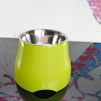 Sturdy Puppy Bowl Feeding Pets Feeder Dogs Food Storage Blows Drinking Pet Food Container Ciotola Cane Drinking Product 50Z0544
