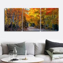 Laeacco Autumn Wall Artworkwork Forest Posters and Prints Nordic Home Decoration Canvas Painting Baby Bedroom Living Room
