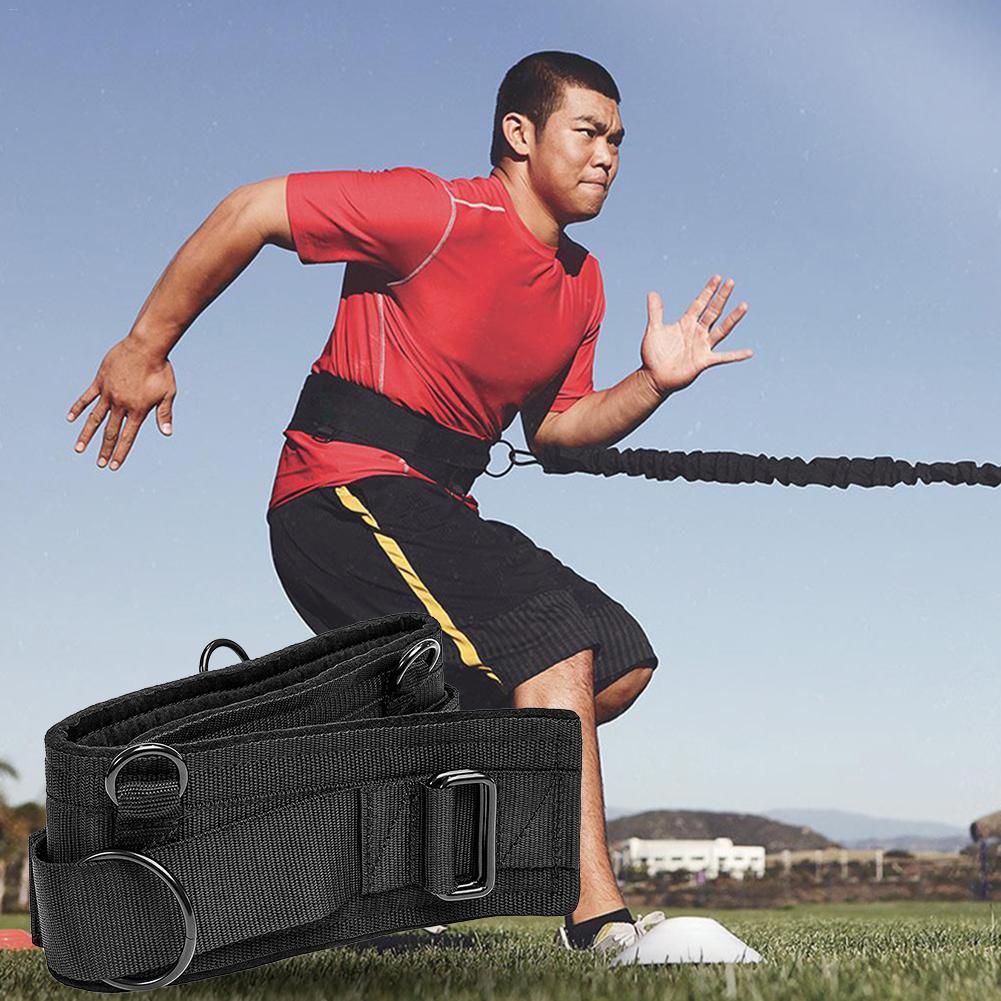 Athlétisme résistance bandes course entraînement Fitness taille jambe traction corde force formateur Sport exercice résistance entraînement bande