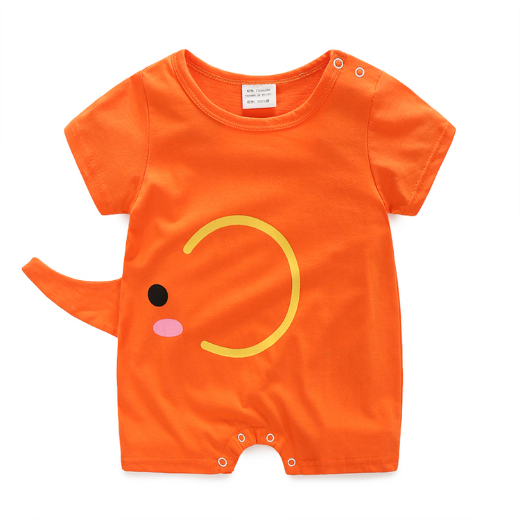 Summer Baby Boy Rompers Fashion Short Sleeve Baby Girls Clothing Sets JJOH.E Bebes Clothes Newborn Baby Clothes Infant Jumpsuits baby boys girls rompers short sleeve infant jumpsuits summer kids clothing sets cartoon newborn baby clothes for 0 12 month
