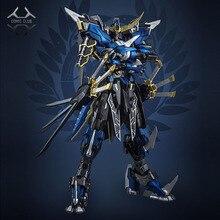 ألعاب مجسمة على شكل شخصية روبوت لشخصية الشيطان هنتر الأزرق المحارب mb Date Masamune GUNDAM VIDAR Alloy