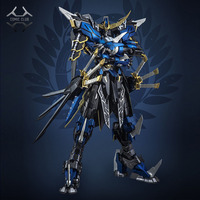 COMIC CLUB IN STOCK Devil Hunter Blue Warrior mb Date Masamune GUNDAM VIDAR Alloy Framework action robot figure toy