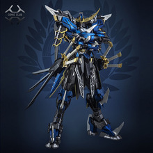 COMIC CLUB en existencia Devil Hunter Blue Warrior mb Date Masamune GUNDAM VIDAR Marco de aleación acción figura de robot de juguete