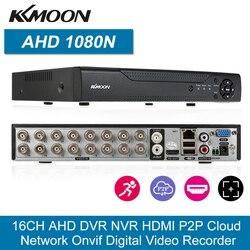 KKmoon 16CH 1080P Гибридный NVR AHD TVI CVI DVR цифровой видеорегистратор Поддержка подключи и играй CMS браузер Обнаружение движения PTZ