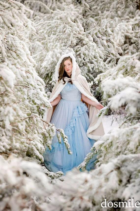 2016-Custom-Made-fur-Classic-Bridal-cape-37-inch-champagne-Ivory-Satin-Middle-Length-wedding-cloak (2)