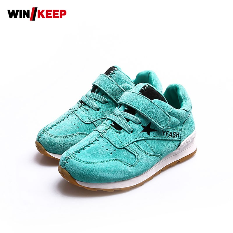все цены на  New Hot Sale Children Shoes Comfortable Breathable Sneakers For Boys Anti Skid Sport Running Shoes Wear Resistant Free Shipping  онлайн
