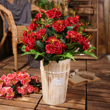 Xuanxiaotong 1pc 65cm 3 Branches Peony Artificial Flowers for Family party Decor Outdoor Wedding Scenes Decoration