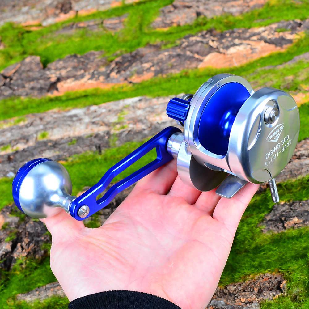 Pro Beros Jigging Reel Aluminium Vissen Reel Righ Handl Jig Reel Max Slepen Zee Boot 16Kg & 19Kg trolling Reel