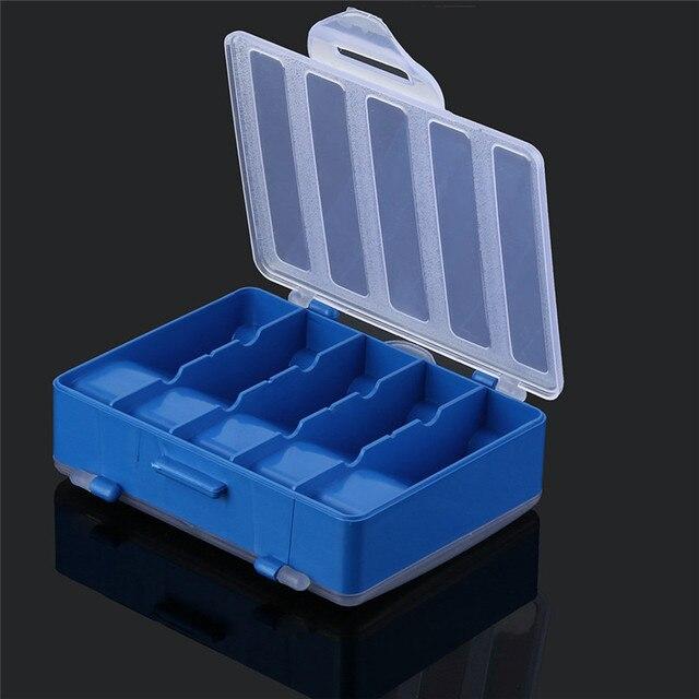 2017 Outdoor fishing lures storage case 10 Grid Fishing Gear Box Bait Bait Hook Storage Small Box Fishing Box
