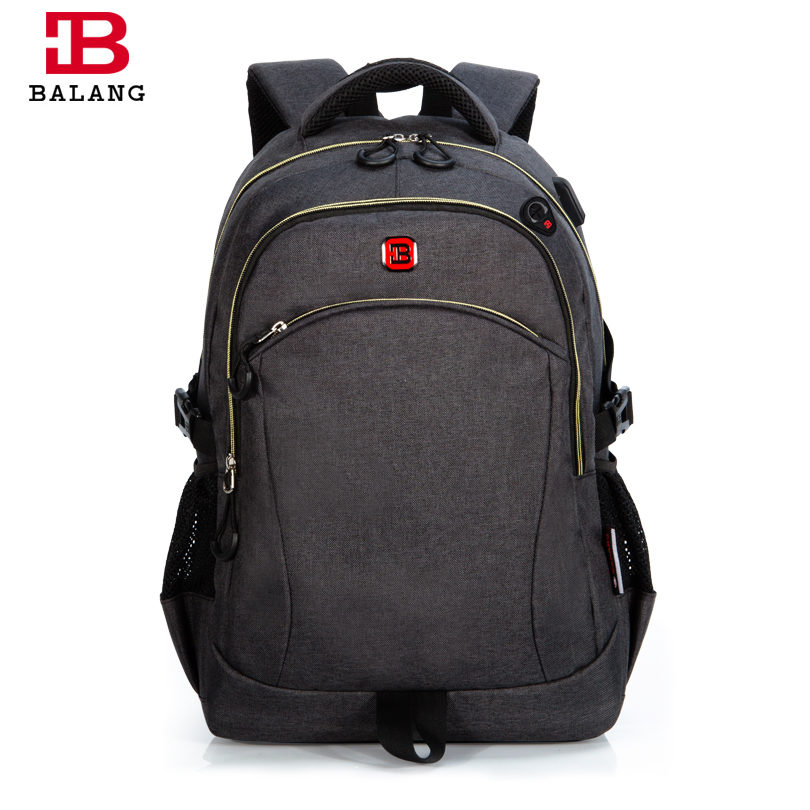 BALANG Brand Notebook Backpack Casual Men's Trendy Bags for Teenagers Laptop Backpack Fashion Unisex School Bags for Boys Girls roblox game casual backpack for teenagers kids boys children student school bags travel shoulder bag unisex laptop bags