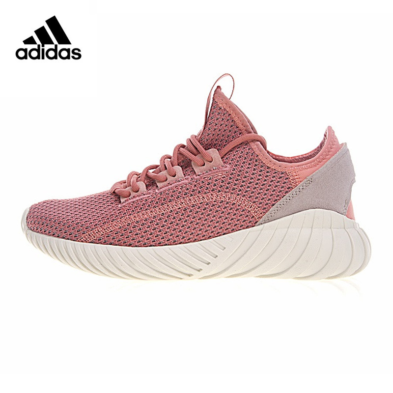 ADIDAS Clover TUBULAR DOOM SOCK Women Running Shoes, Black Pink Abrasion Resistant Lightweight BY9336 BY9335 EUR Size W