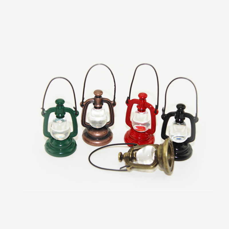 Diy Dollhouse Miniature 1 12 Mini Oil Lamp Dollhouse Furniture