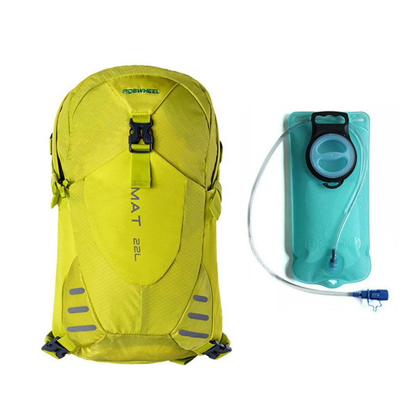 22L Cycling Bicycle Backpack font b Bag b font 2L Hydration Bladder Water Tank Outdoor Cycling