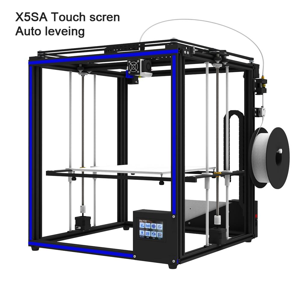 2019 Upgraded 3D Printer Tronxy X5SA Filament Sensor Large Plus Size 330 330mm hotbed Full Metal