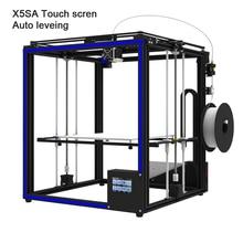 2019 mis à niveau 3D imprimante Tronxy X5SA Filament capteur grande grande taille 330*330mm hotbed plein métal TFT écran tactile imprimante 3d