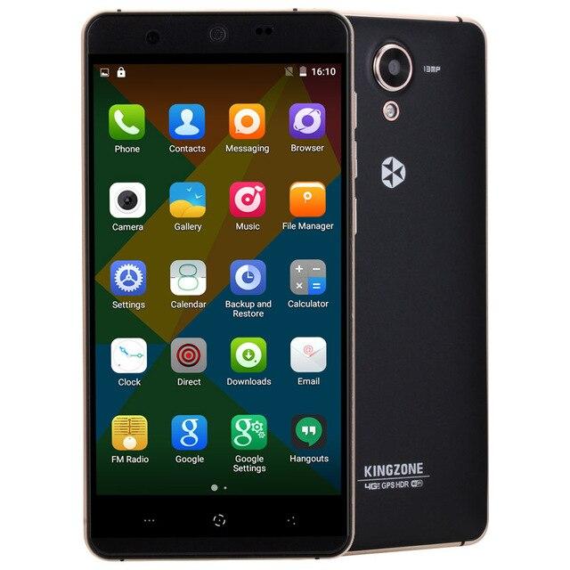 Original KINGZONE N5 ROM 16GB RAM 2GB 5.0 inch LTPS Android OS 5.1 SmartPhone MT6735 Quad Core 1.0GHz Dual SIM FDD-LTE WCDMA GSM