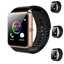 Купить с кэшбэком Smart Watch GT08 European / Asian Versions Camera Dial/answer SIM/TF Card Fitness Tracker Bluetooth Bracelet VS Q18 DZ09 A1