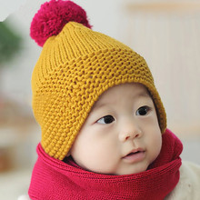 Infant Baby Handmade Knitted Beanies Hat Newborn Caps Accessories