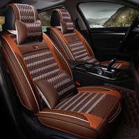 Styling Sport Car Ghế Bìa Chung Đệm Cho BMW 3 4 5 6 7 SeriesGT M3 X1 X3 X4 X5 X6 Suv Cao-sợi Da