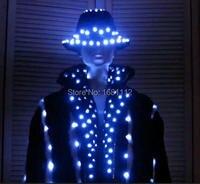 LED Stage clothes/ Luminous costume/LED suit/ Luminous suit
