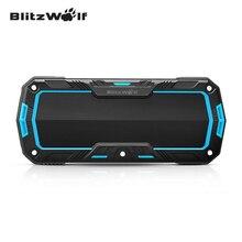 BlitzWolf BW-F3 IP65 Portable Mini Bluetooth Wireless Waterproof Outdoor Sport Hand Free 2*5W Speaker For Smartphone