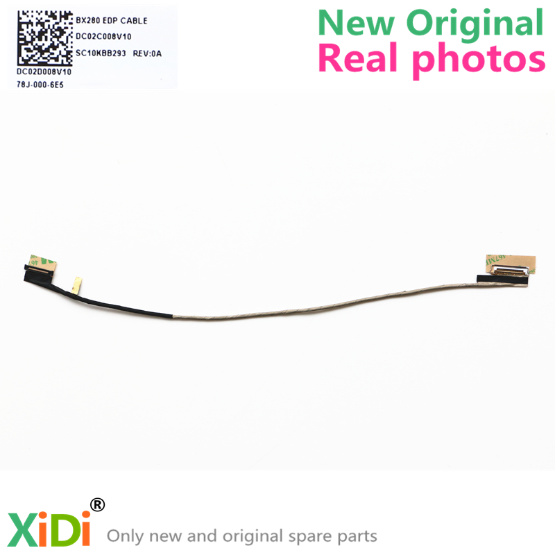 NEW BX280 DC02C008V00 DC02C008V10 CABLE FOR LENOVO THINKPAD X260 X280 LCD LVDS CABLE