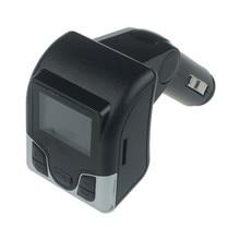 AUT Автомобиля MP3 Аудио Плеер FM Передатчик Беспроводной FM Модулятор Автомобильный комплект Громкой Связи ЖК-Дисплей USB Зарядное Устройство для iPhone Samsung Au 15