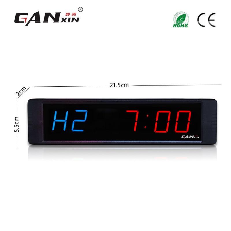 """[Ganxin] 1 """"přenosný a vysoce kvalitní tovární LED dioda s digitálním crossfit časovačem s funkcí počítání"""