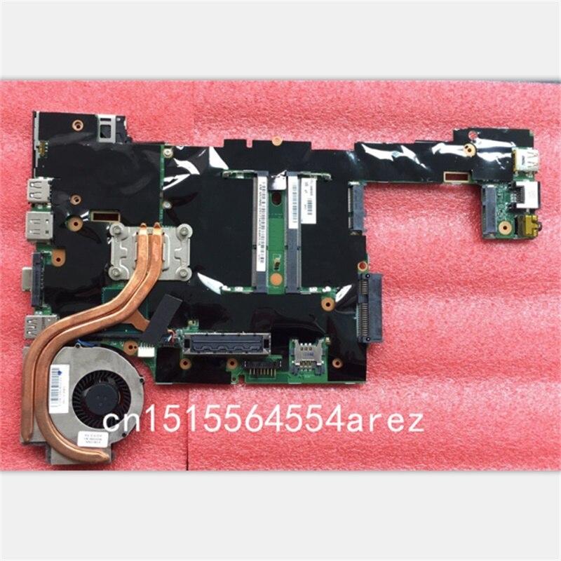 YENI Orijinal Laptop Lenovo ThinkPad X220 i5 anakart anakart ile fan i5-2540 04W0680 04W2108YENI Orijinal Laptop Lenovo ThinkPad X220 i5 anakart anakart ile fan i5-2540 04W0680 04W2108