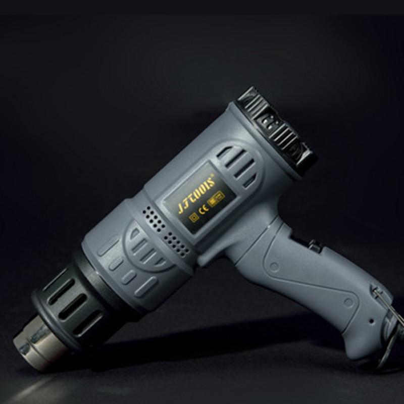 2000w Heat Gun Industrial Hot Air Gun Kit Precision Temperature Control Dual Temp settings for Removing Paint and Bending Pipes