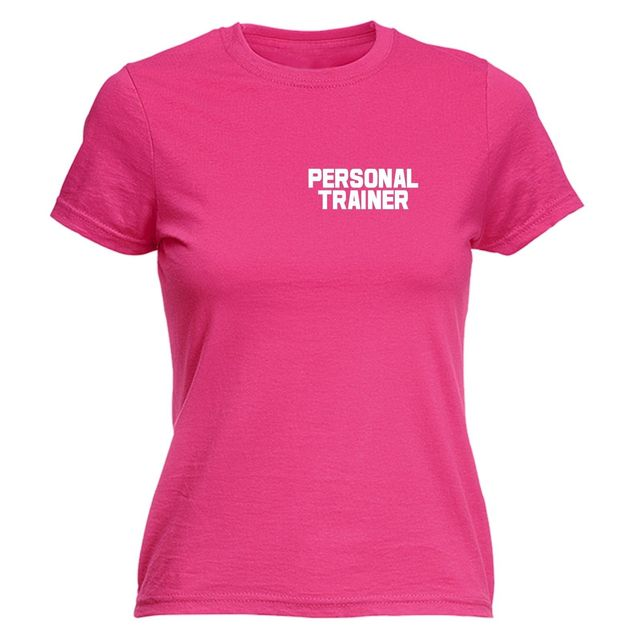 f3ff023c9 Personal Trainer WOMENS T-SHIRT Gymer Workout Instructor Trainer Mothers  Day Gift Fitness T Shirt Girls Bodybuilding Tees