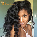 Remy Indian virgin hair water wave 3 bundles with closure ear to ear lace frontal  with bundles 100 percent human hair deals