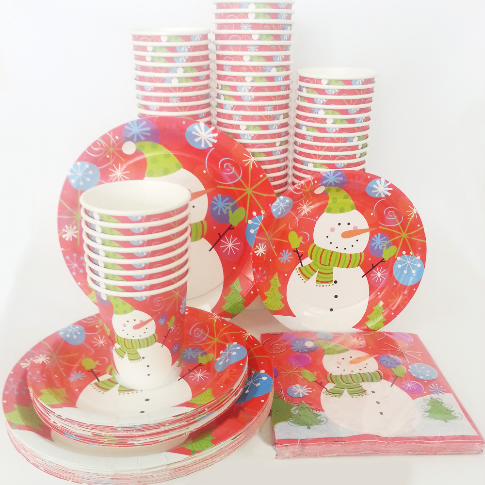 Online Buy Wholesale christmas paper plates and napkins ...