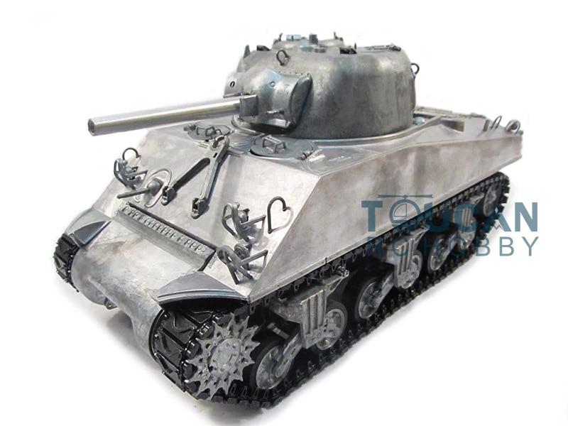 100% Metal Mato 1/16 M4A3 Sherman KIT RC Tank Infrared Version Metal Color 1230 mato metal turret 1 16 m4a3 75 w sherman for mato 1230 100