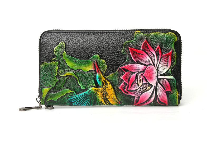 genuine leather wallet female (5)
