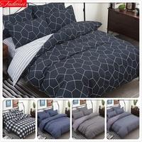 Abstract Pattern 4pcs Bedding Set Double Big Size Duvet Cover Sheets Quilt Comforter Pillow Case Soft Cotton Bed Linens 2m 2.2m