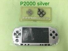 غلاف كامل الإسكان مع مجموعة أزرار لاستبدال وحدة التحكم في الألعاب الإصدار القديم PSP2000 PSP 2000