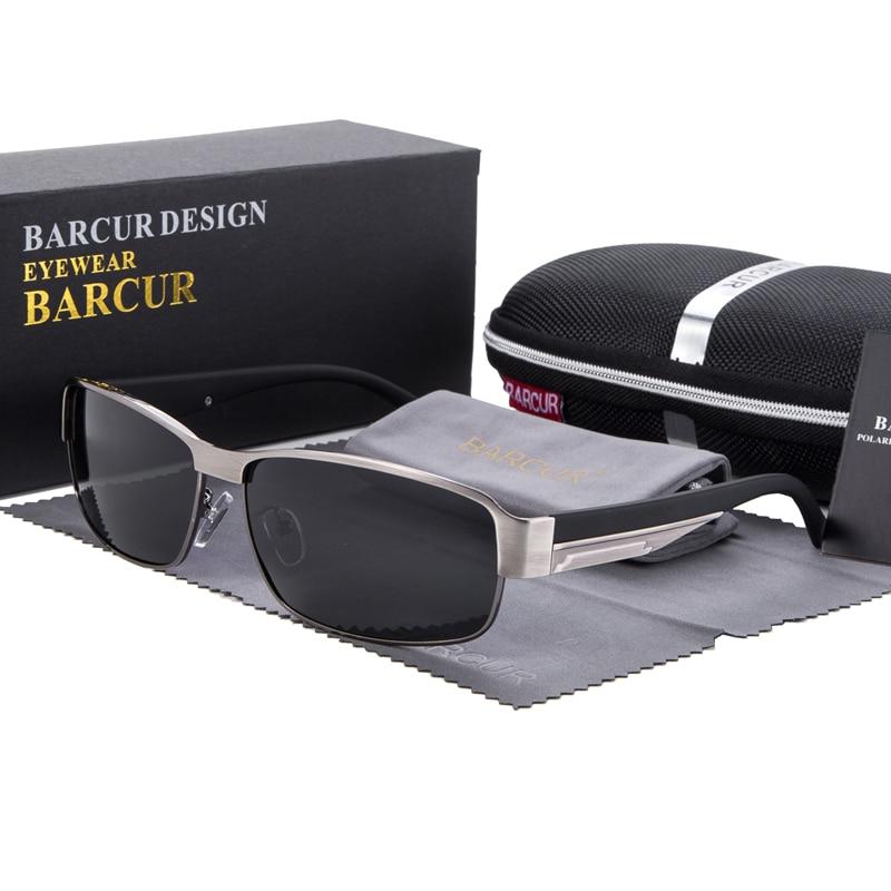 Syzet e diellit BARCUR për drejtimin e syzeve për burra Dielli për - Aksesorë veshjesh - Foto 2