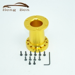 101MM Height High Quality aluminium alloy Racing Quick Release Steering Wheel Hub Adapter Snap Off Boss Kit