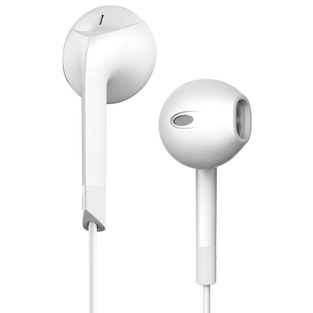 Лидер продаж E6C наушники Шум шумоподавления гарнитуры стерео наушники с микрофоном для iPhone airpods Earpods