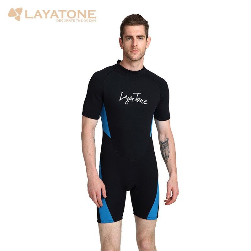 3mm Neoprene Shorty Gli Uomini di Nuoto Muta 2018 del Costume Da Bagno Più Il Formato 6XL 5XL Nero Costumi Da Bagno Lo Snorkeling Immersioni Surf Muta b1619