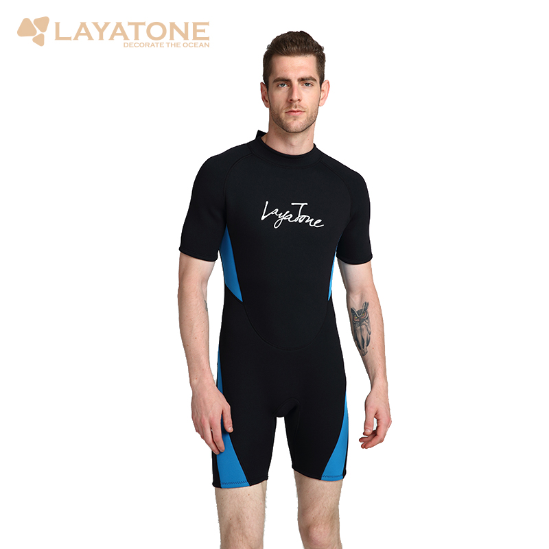 3mm Neoprene Shorty Men Swimming Wetsuit 2018 Swimsuit Plus Size 6XL 5XL Black Swimwear Snorkeling Surfing Diving Wet Suit B1619 сорочка и стринги orangina 5xl 6xl