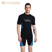 89737df56643 3mm Neoprene Shorty Men Swimming Wetsuit 2018 Swimsuit Plus Size 6XL 5XL  Black Swimwear Snorkeling Surfing Diving Wet Suit B1619