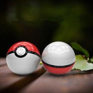 Новейшая Горячая Быстрая Зарядка телефона Pokemon Go Red Ball Power Bank 10000mA зарядное устройство со светодиодной подсветкой мобильная игра косплей пок...