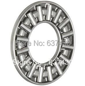 100pcs lot AXK3047 thrust needle roller bearing 30X47X2mm thrust bearing only bearing