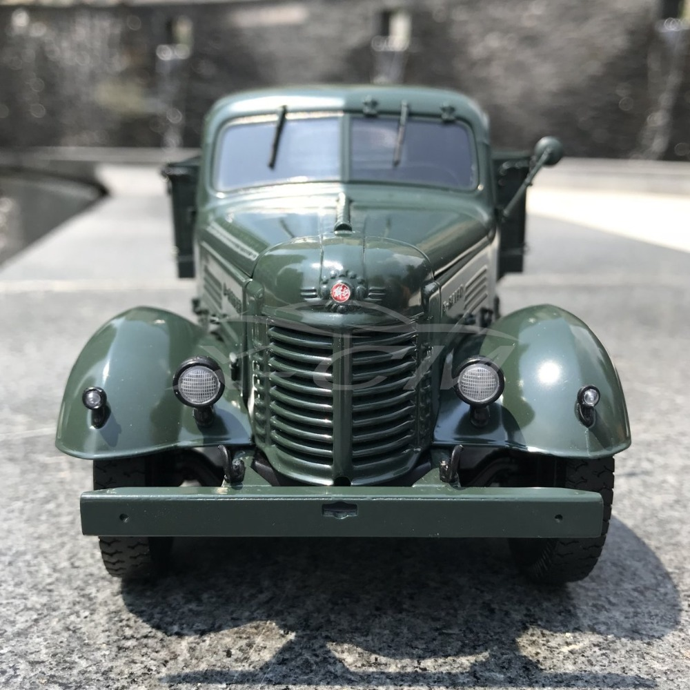 Diecast Car Model Jiefang CA10 Truck Century Dragon 1 24 Green SMALL GIFT