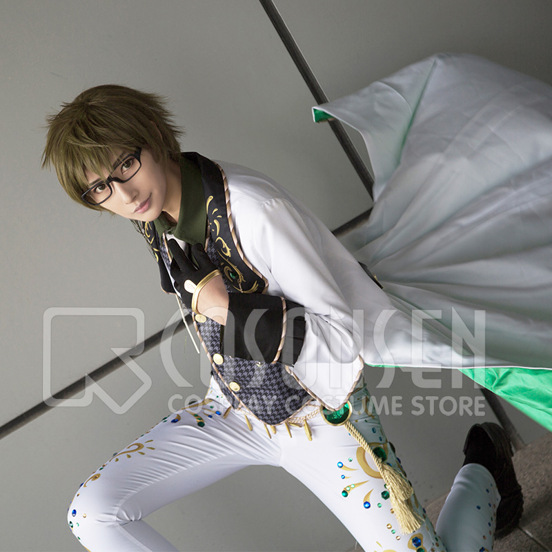 Anime IDOLiSH7 OP WiSH VOYAGE Yamato Nikaido Uniform Fancy Dress Cosplay Costume All Sizes