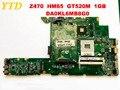 Оригинальная материнская плата для ноутбука lenovo Z470 Z470 HM65 GT520M 1 ГБ DA0KL6MB8G0 протестирована  бесплатная доставка