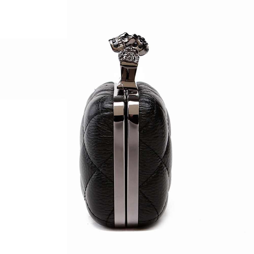 DIINOVIVO Новая модная женская сумка в раме роскошная кожаная элегантная сумка в клетку повседневные стильные женские клатчи на каждый день с клапаном WHDV0078