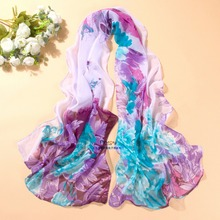 new arrival 2018 spring and autumn chiffon women scarf Print geometric pattern design long soft silk shawl цена в Москве и Питере